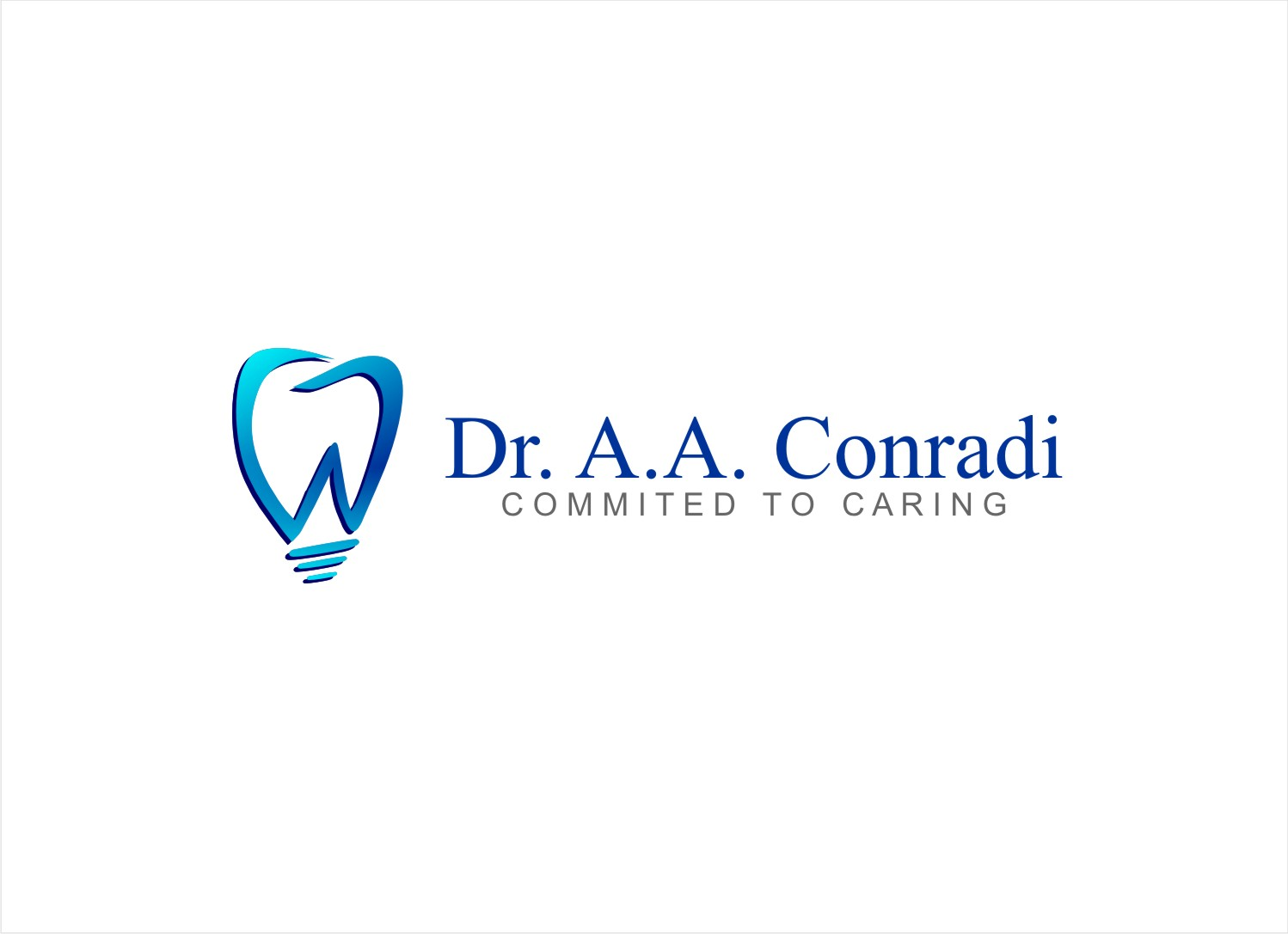 Logo Design by Private User - Entry No. 132 in the Logo Design Contest Unique Logo Design Wanted for Dr. A.A. Conradi.
