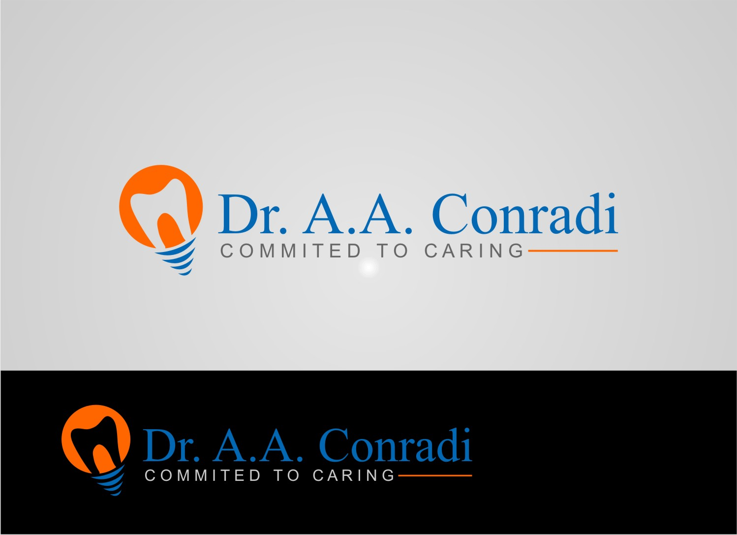 Logo Design by Private User - Entry No. 136 in the Logo Design Contest Unique Logo Design Wanted for Dr. A.A. Conradi.