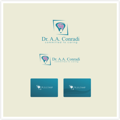 Logo Design by Rendra Jannu - Entry No. 144 in the Logo Design Contest Unique Logo Design Wanted for Dr. A.A. Conradi.