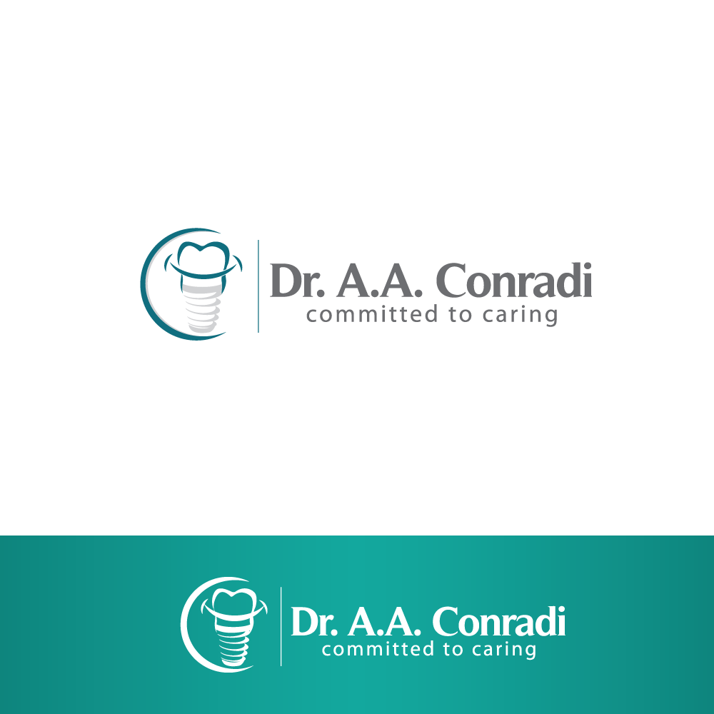 Logo Design by rockin - Entry No. 151 in the Logo Design Contest Unique Logo Design Wanted for Dr. A.A. Conradi.
