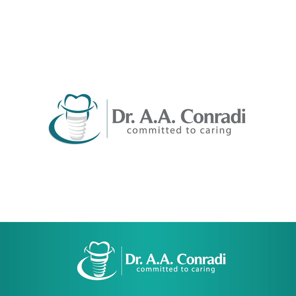 Logo Design by rockin - Entry No. 152 in the Logo Design Contest Unique Logo Design Wanted for Dr. A.A. Conradi.