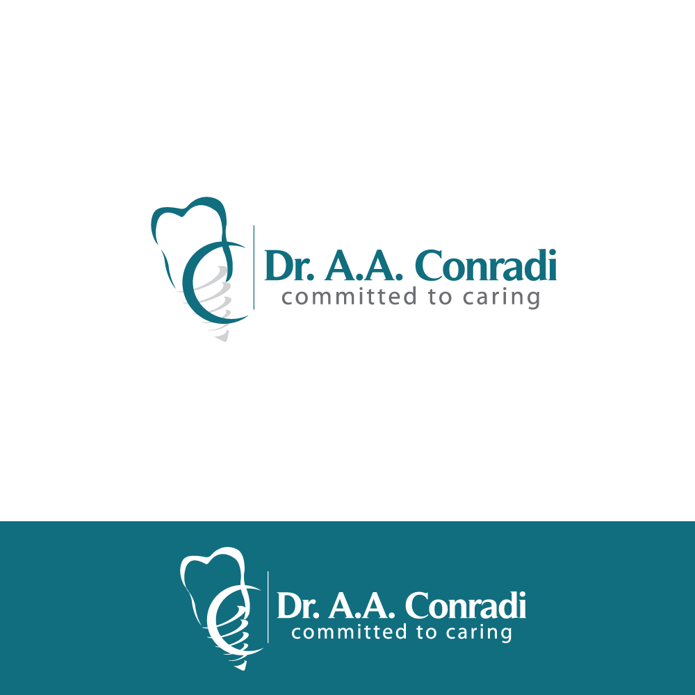Logo Design by rockin - Entry No. 153 in the Logo Design Contest Unique Logo Design Wanted for Dr. A.A. Conradi.