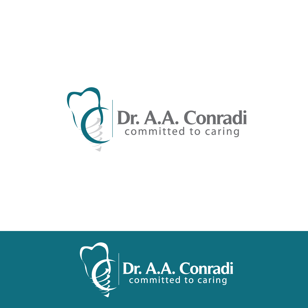 Logo Design by rockin - Entry No. 154 in the Logo Design Contest Unique Logo Design Wanted for Dr. A.A. Conradi.