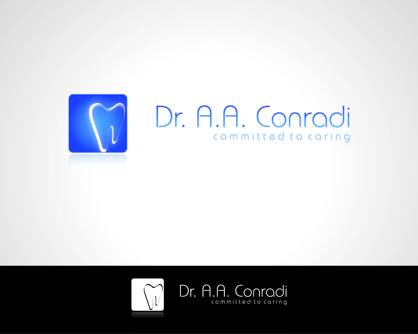 Logo Design by Private User - Entry No. 155 in the Logo Design Contest Unique Logo Design Wanted for Dr. A.A. Conradi.