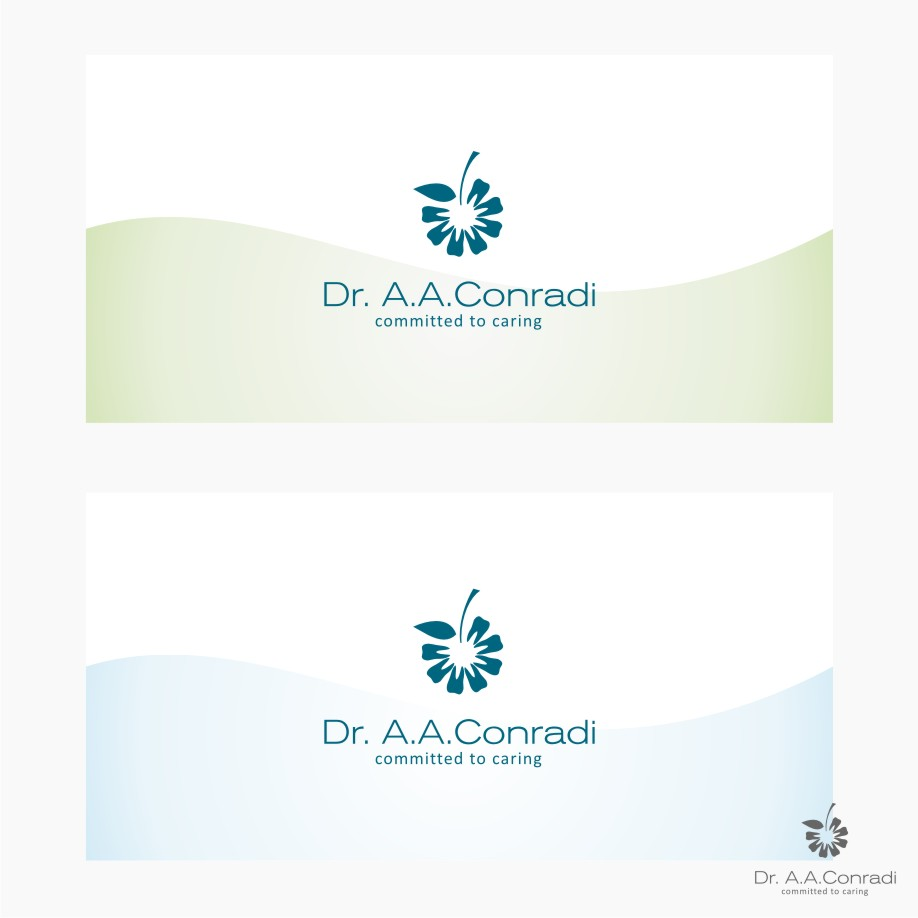 Logo Design by graphicleaf - Entry No. 166 in the Logo Design Contest Unique Logo Design Wanted for Dr. A.A. Conradi.