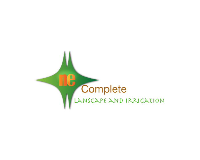 Logo Design by Diana Roder - Entry No. 44 in the Logo Design Contest Fun Logo Design for ne complete landscaping and irrigation.