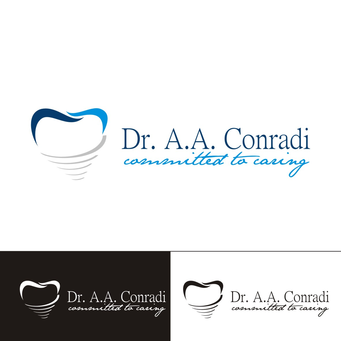 Logo Design by arteo_design - Entry No. 169 in the Logo Design Contest Unique Logo Design Wanted for Dr. A.A. Conradi.