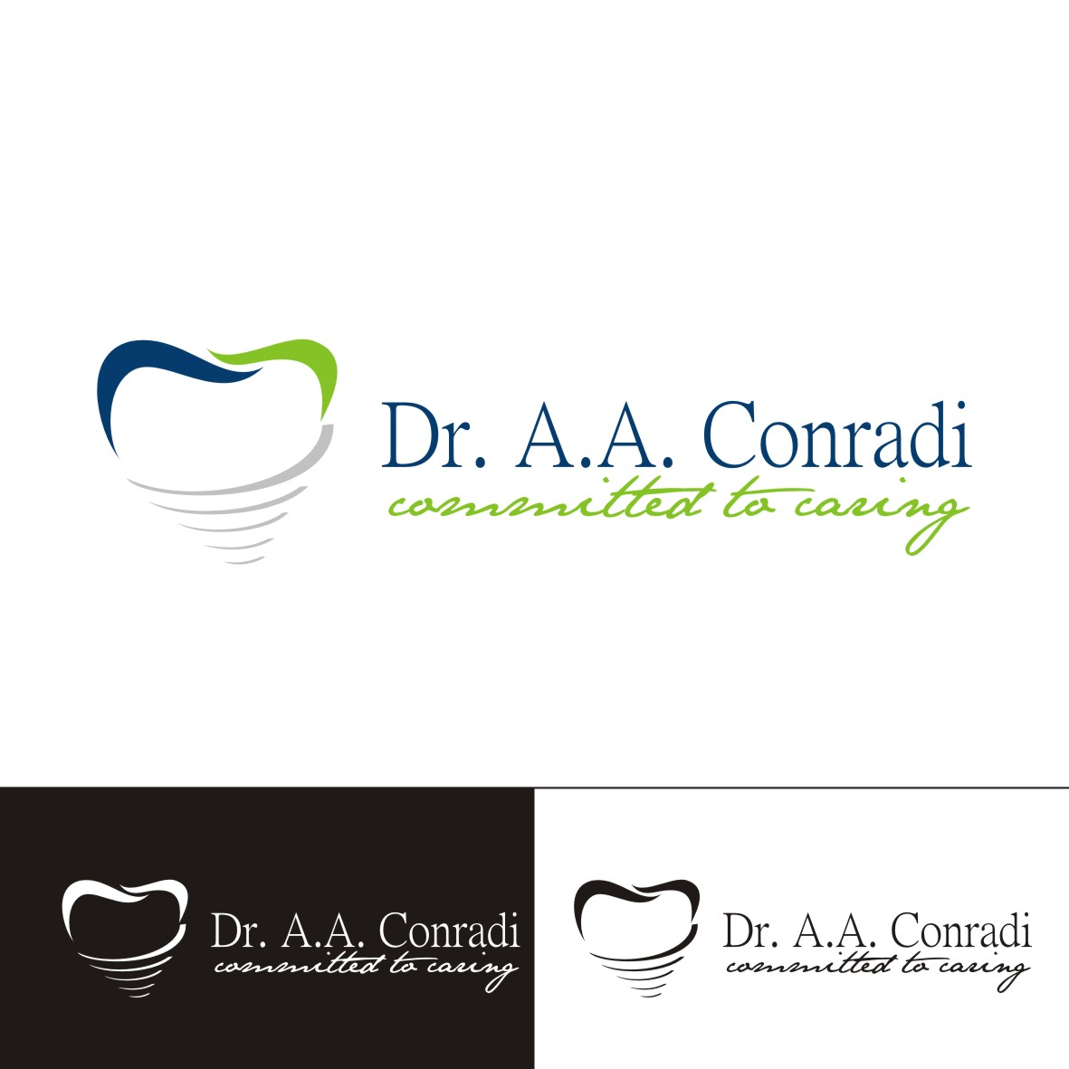 Logo Design by arteo_design - Entry No. 175 in the Logo Design Contest Unique Logo Design Wanted for Dr. A.A. Conradi.