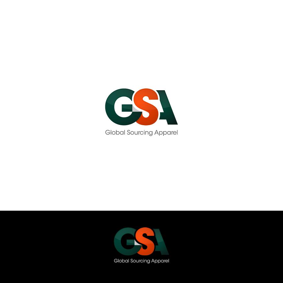 Logo Design by zesthar - Entry No. 65 in the Logo Design Contest Fun Logo Design for Global Sourcing Apparel.