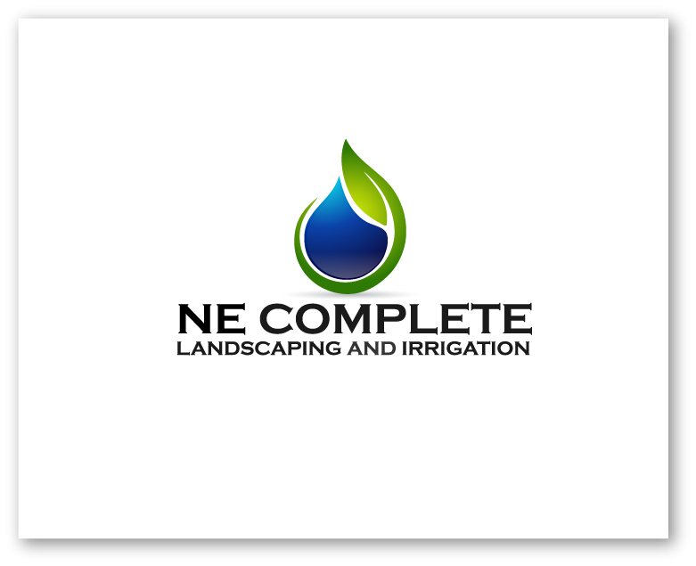 Logo Design by Private User - Entry No. 49 in the Logo Design Contest Fun Logo Design for ne complete landscaping and irrigation.