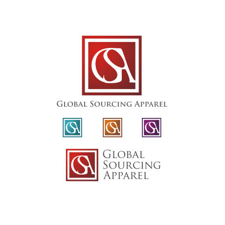 Logo Design by Rendra Jannu - Entry No. 73 in the Logo Design Contest Fun Logo Design for Global Sourcing Apparel.