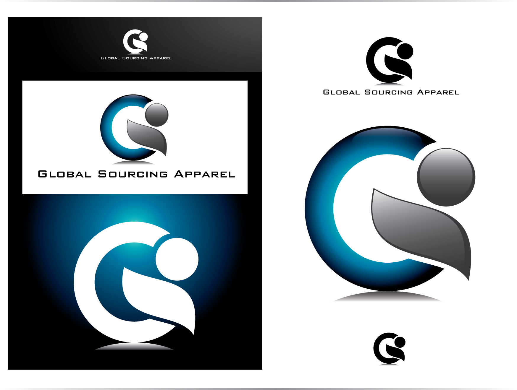 Logo Design by lovag - Entry No. 77 in the Logo Design Contest Fun Logo Design for Global Sourcing Apparel.