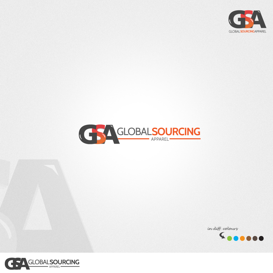 Logo Design by rockpinoy - Entry No. 78 in the Logo Design Contest Fun Logo Design for Global Sourcing Apparel.