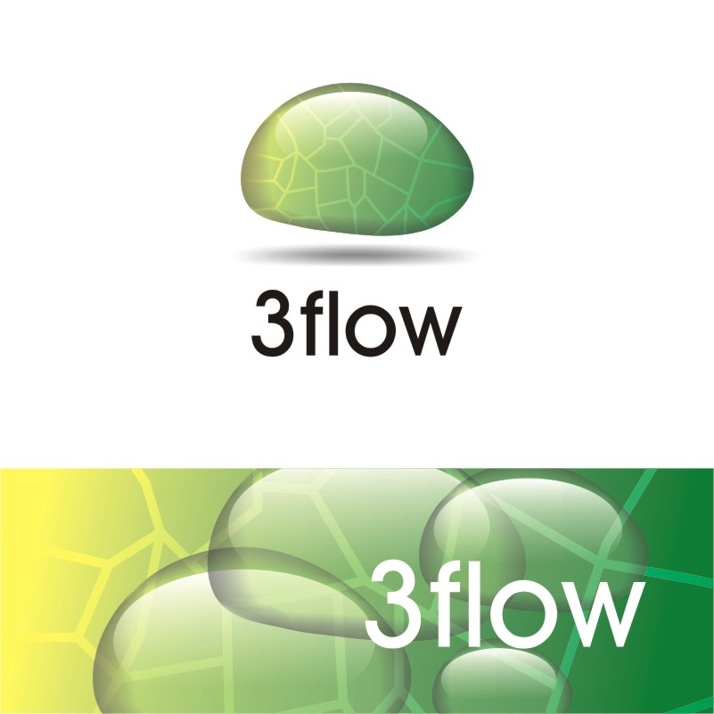 Logo Design by Private User - Entry No. 2 in the Logo Design Contest Fun Logo Design for 3flow.