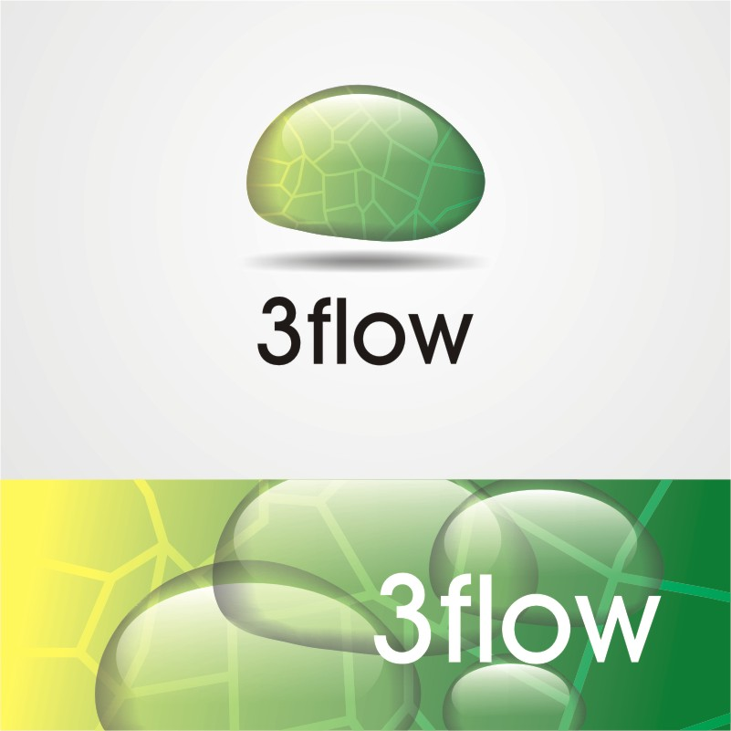 Logo Design by Private User - Entry No. 3 in the Logo Design Contest Fun Logo Design for 3flow.
