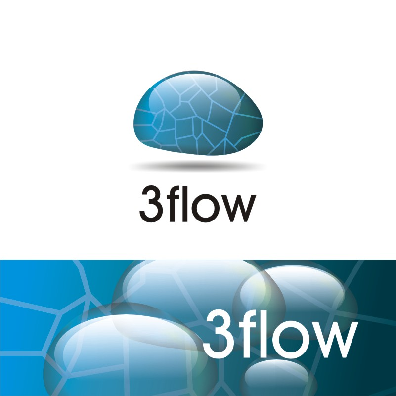 Logo Design by Private User - Entry No. 5 in the Logo Design Contest Fun Logo Design for 3flow.