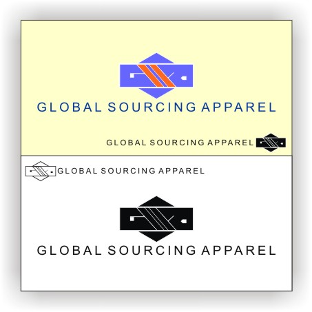 Logo Design by Private User - Entry No. 82 in the Logo Design Contest Fun Logo Design for Global Sourcing Apparel.