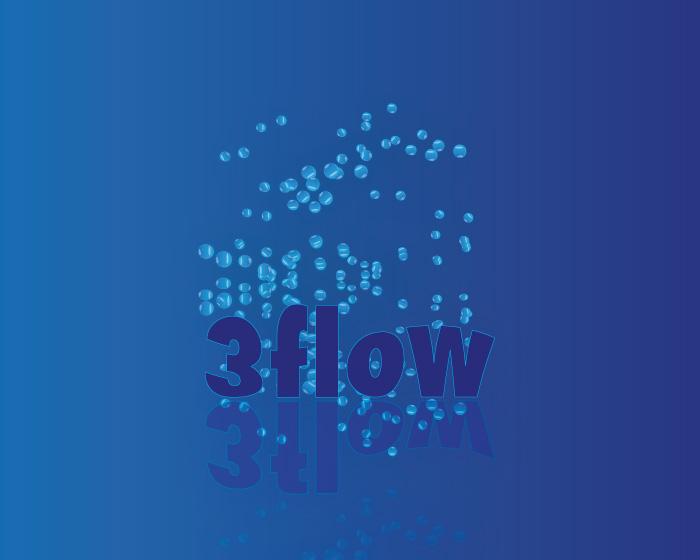 Logo Design by Diana Roder - Entry No. 7 in the Logo Design Contest Fun Logo Design for 3flow.