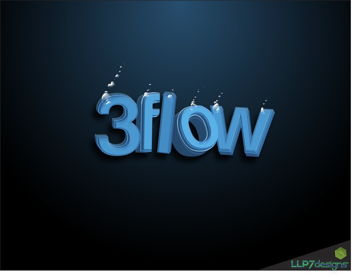 Logo Design by LLP7 - Entry No. 10 in the Logo Design Contest Fun Logo Design for 3flow.