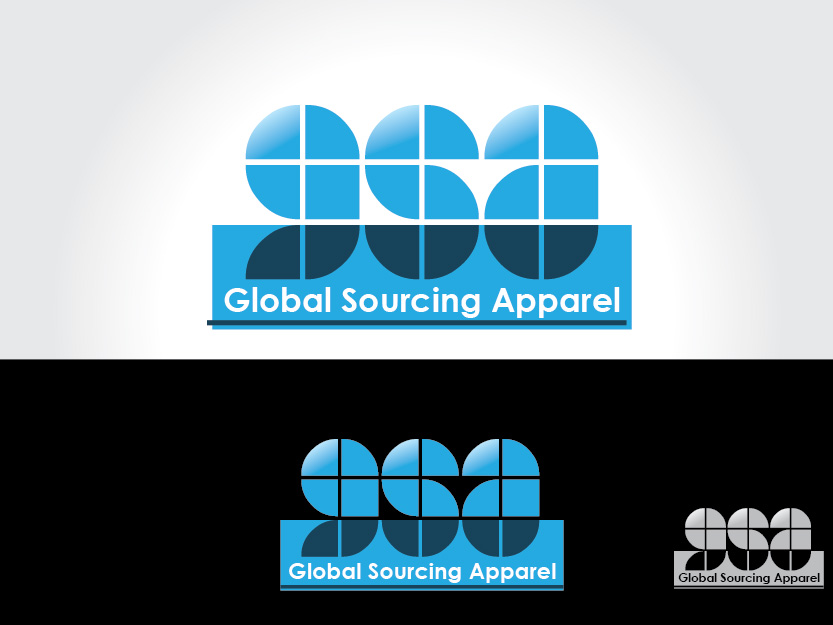 Logo Design by Private User - Entry No. 109 in the Logo Design Contest Fun Logo Design for Global Sourcing Apparel.