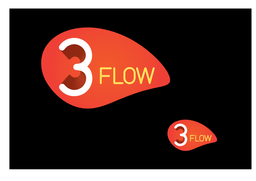 Logo Design by DangerousDave - Entry No. 11 in the Logo Design Contest Fun Logo Design for 3flow.