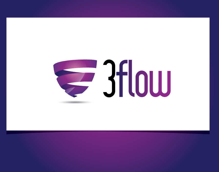 Logo Design by shariq_ssa - Entry No. 13 in the Logo Design Contest Fun Logo Design for 3flow.