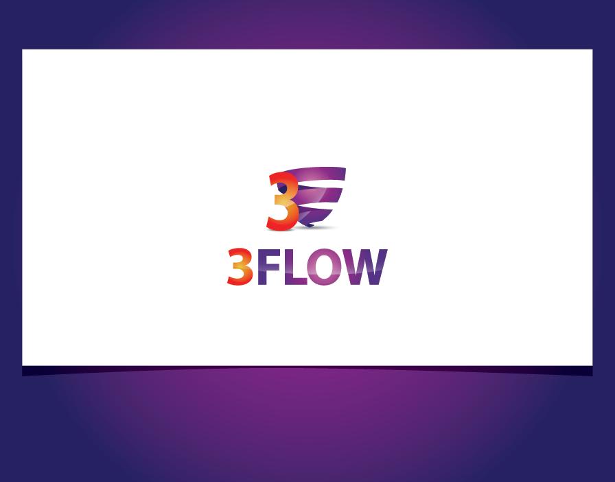 Logo Design by shariq_ssa - Entry No. 14 in the Logo Design Contest Fun Logo Design for 3flow.