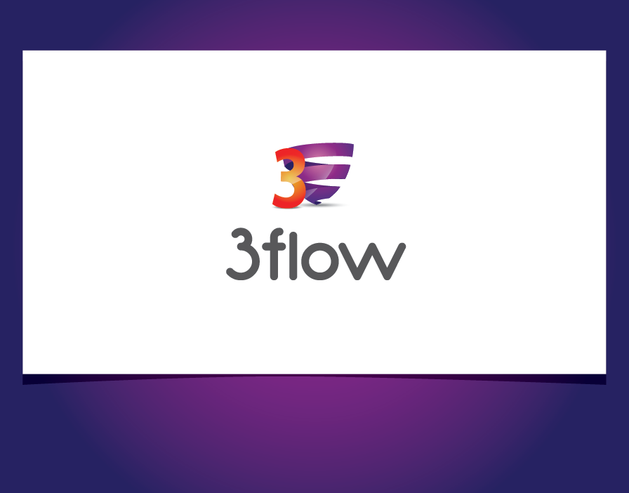 Logo Design by shariq_ssa - Entry No. 15 in the Logo Design Contest Fun Logo Design for 3flow.