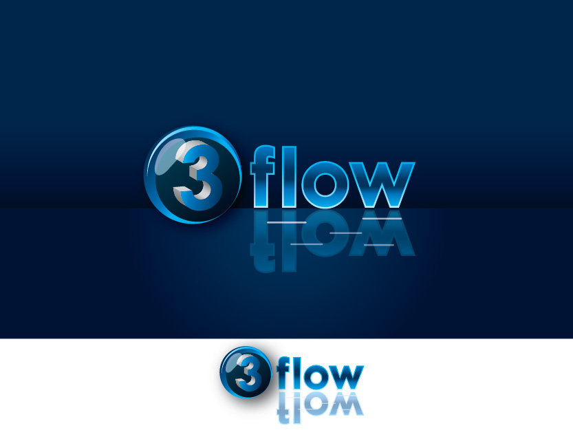 Logo Design by Private User - Entry No. 17 in the Logo Design Contest Fun Logo Design for 3flow.