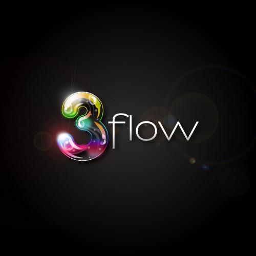 Logo Design by SilverEagle - Entry No. 18 in the Logo Design Contest Fun Logo Design for 3flow.