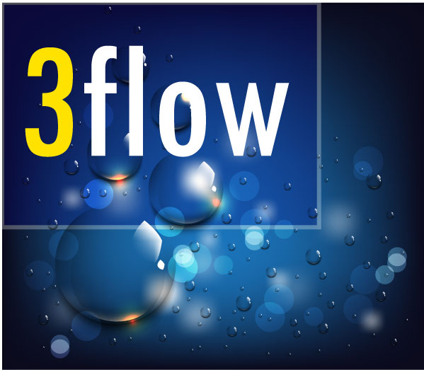 Logo Design by Private User - Entry No. 26 in the Logo Design Contest Fun Logo Design for 3flow.