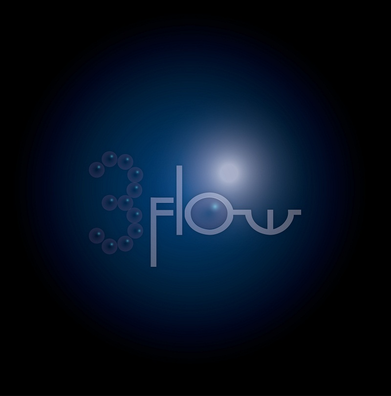 Logo Design by kowreck - Entry No. 33 in the Logo Design Contest Fun Logo Design for 3flow.