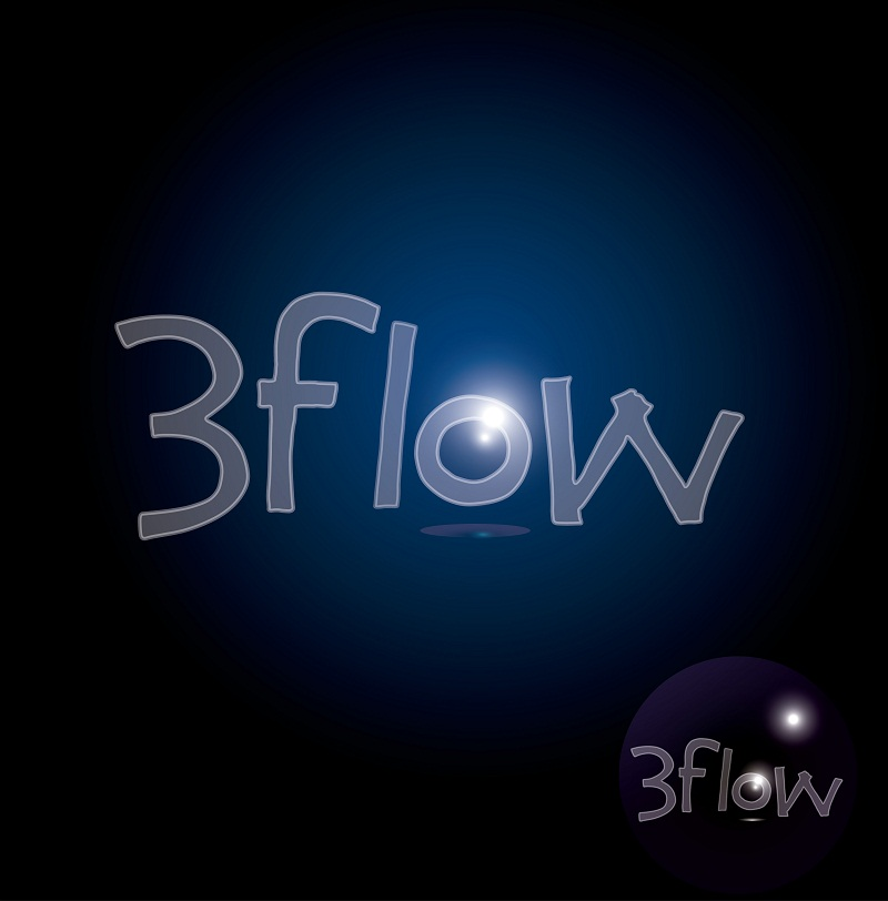 Logo Design by kowreck - Entry No. 36 in the Logo Design Contest Fun Logo Design for 3flow.