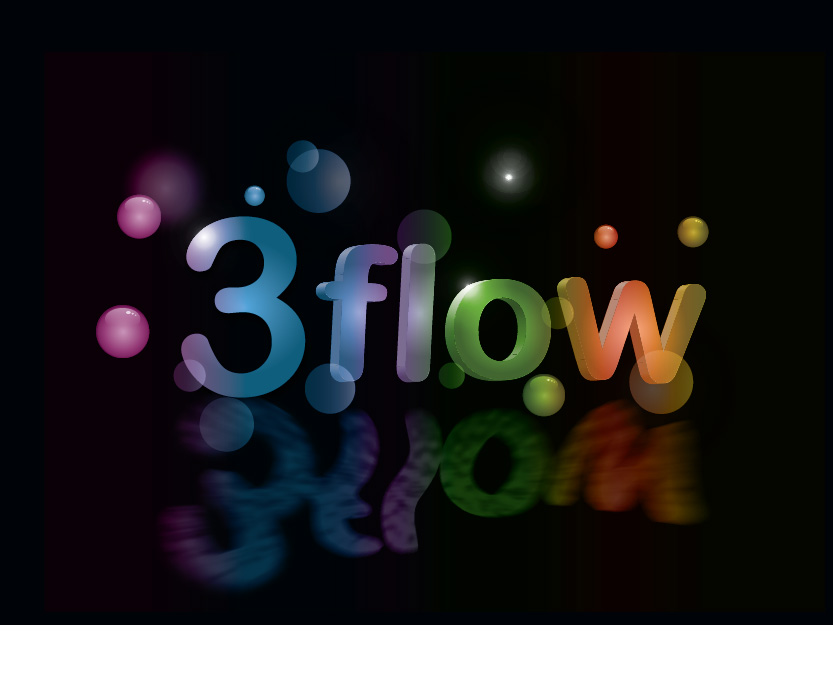 Logo Design by Private User - Entry No. 38 in the Logo Design Contest Fun Logo Design for 3flow.