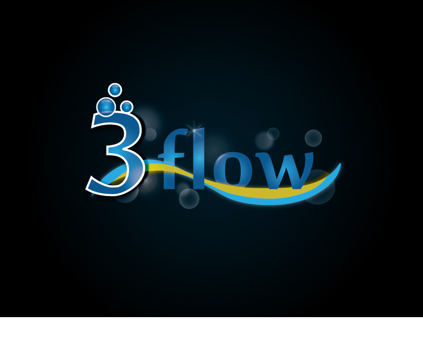 Logo Design by Private User - Entry No. 41 in the Logo Design Contest Fun Logo Design for 3flow.