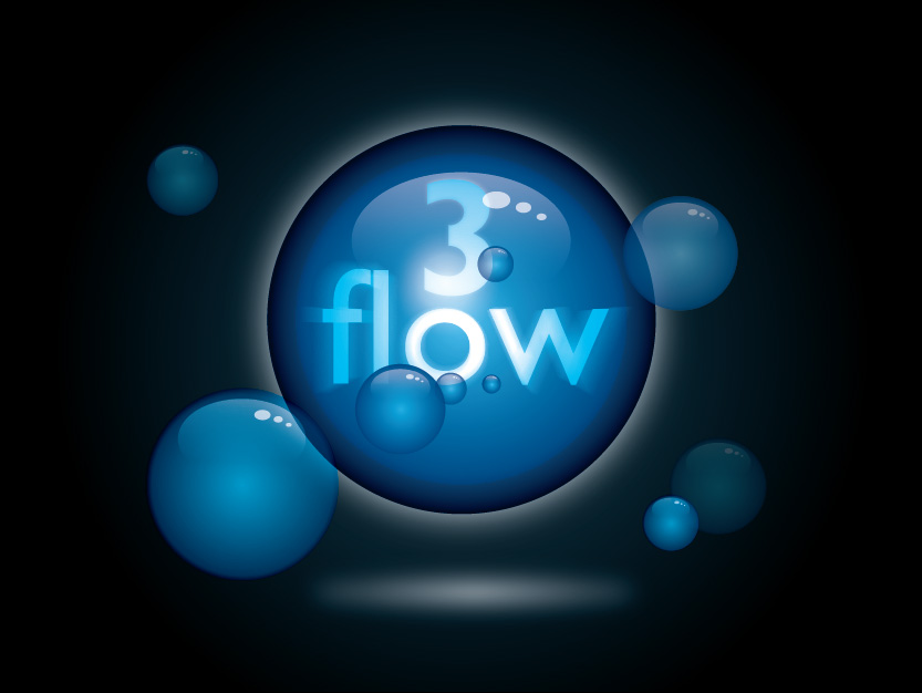 Logo Design by Private User - Entry No. 42 in the Logo Design Contest Fun Logo Design for 3flow.