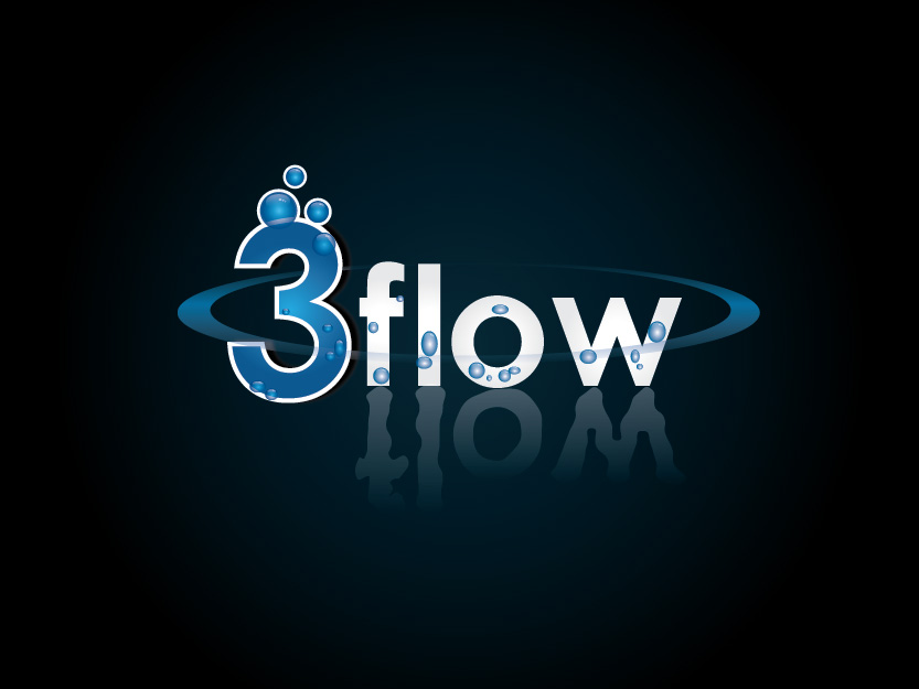 Logo Design by Private User - Entry No. 43 in the Logo Design Contest Fun Logo Design for 3flow.