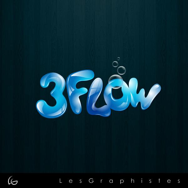 Logo Design by Les-Graphistes - Entry No. 46 in the Logo Design Contest Fun Logo Design for 3flow.