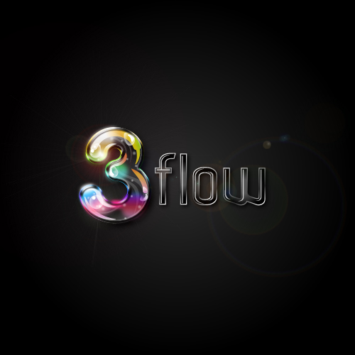 Logo Design by SilverEagle - Entry No. 47 in the Logo Design Contest Fun Logo Design for 3flow.