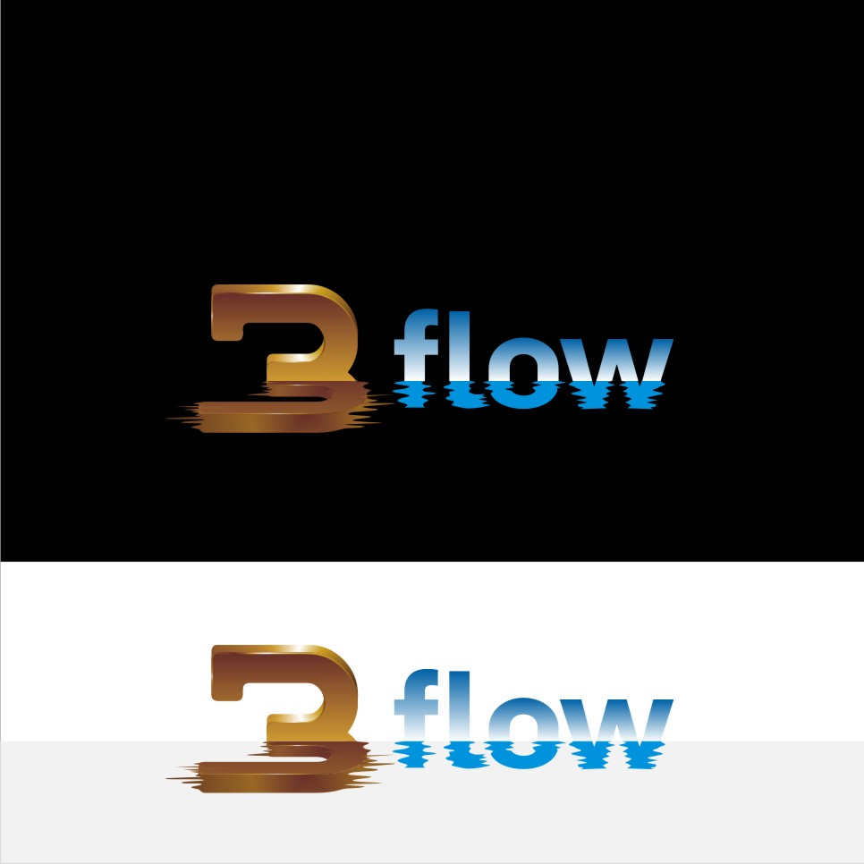 Logo Design by graphicleaf - Entry No. 52 in the Logo Design Contest Fun Logo Design for 3flow.