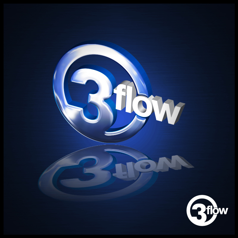 Logo Design by Number-Eight-Design - Entry No. 57 in the Logo Design Contest Fun Logo Design for 3flow.