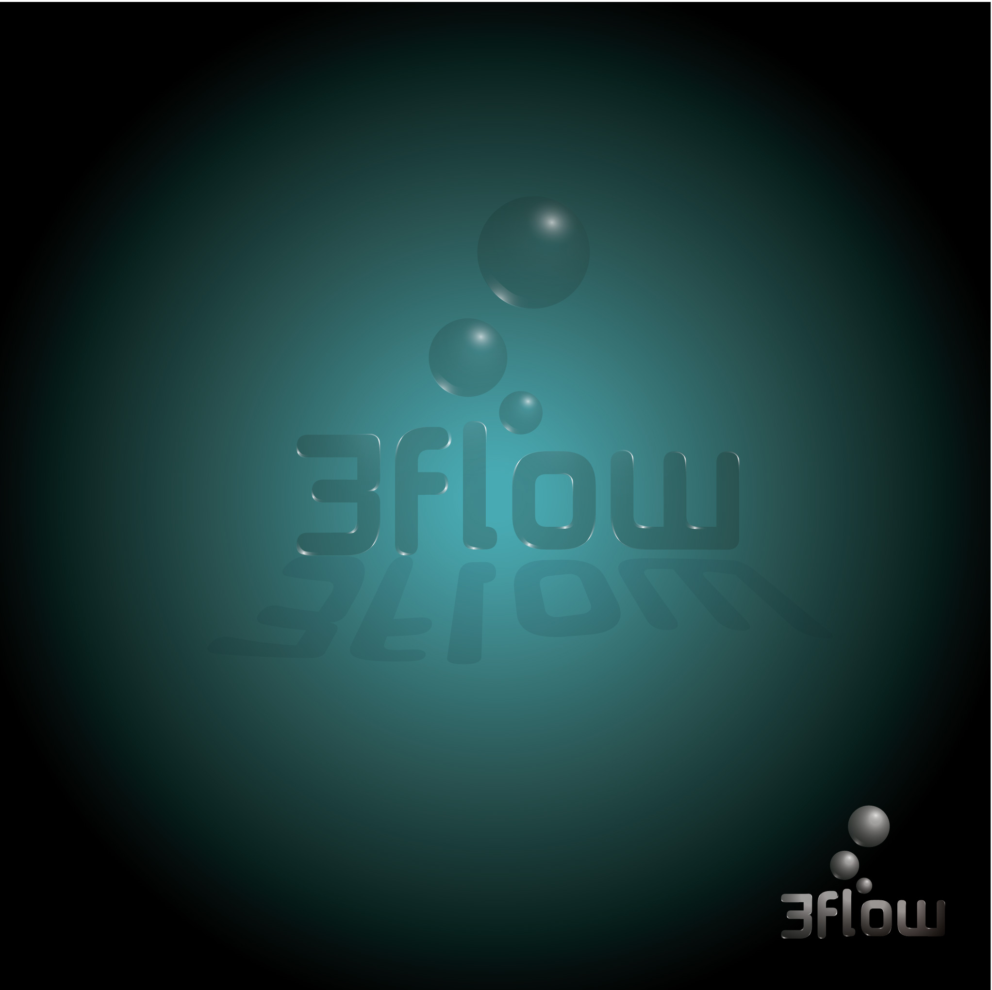 Logo Design by kowreck - Entry No. 60 in the Logo Design Contest Fun Logo Design for 3flow.