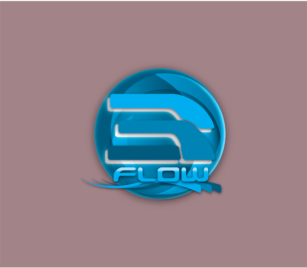 Logo Design by Md Iftekharul Islam Pavel - Entry No. 64 in the Logo Design Contest Fun Logo Design for 3flow.