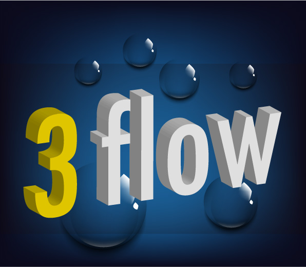 Logo Design by Private User - Entry No. 65 in the Logo Design Contest Fun Logo Design for 3flow.