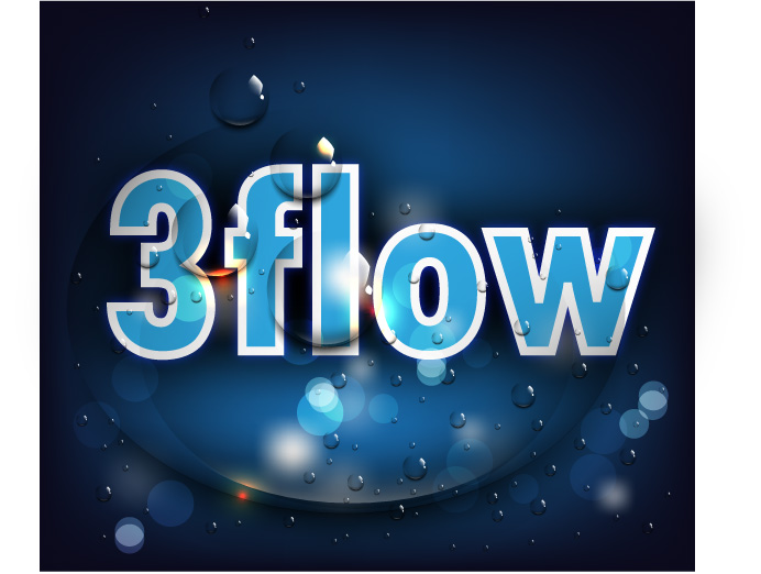 Logo Design by Private User - Entry No. 68 in the Logo Design Contest Fun Logo Design for 3flow.