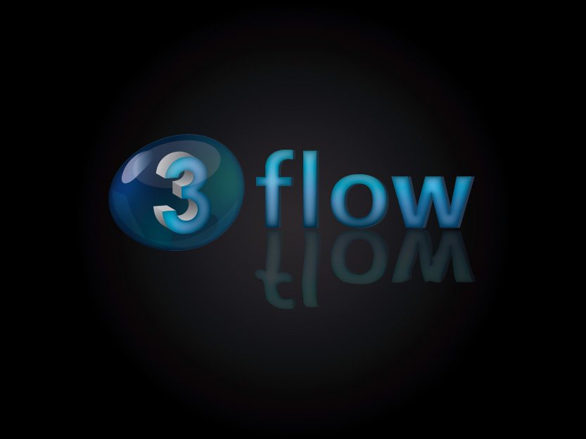 Logo Design by Private User - Entry No. 71 in the Logo Design Contest Fun Logo Design for 3flow.