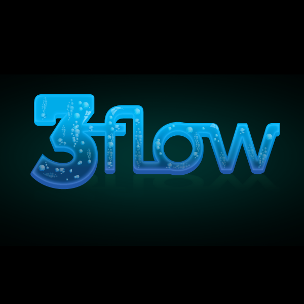 Logo Design by storm - Entry No. 79 in the Logo Design Contest Fun Logo Design for 3flow.