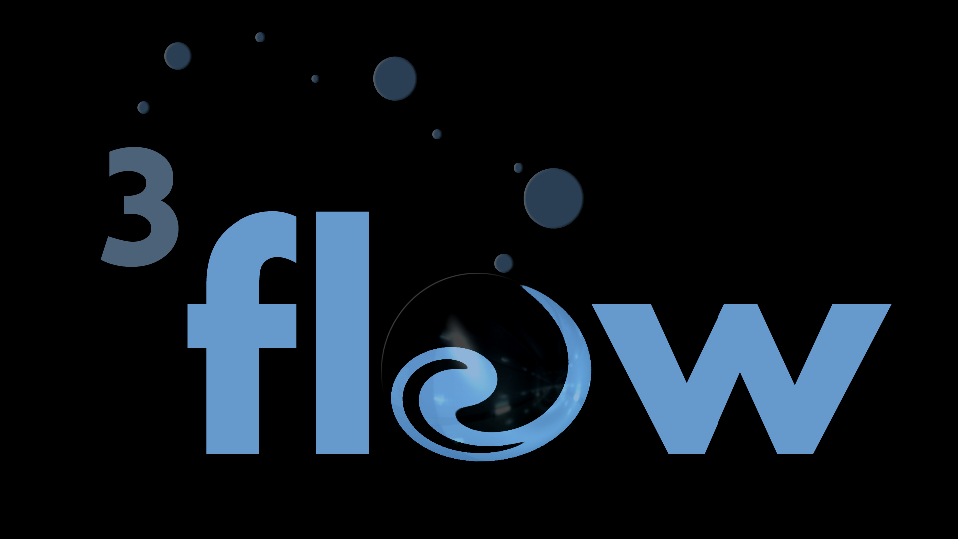 Logo Design by zigzag91 - Entry No. 84 in the Logo Design Contest Fun Logo Design for 3flow.