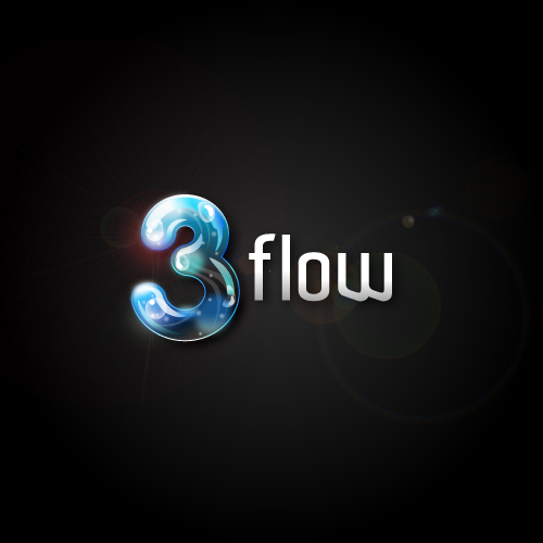 Logo Design by SilverEagle - Entry No. 87 in the Logo Design Contest Fun Logo Design for 3flow.