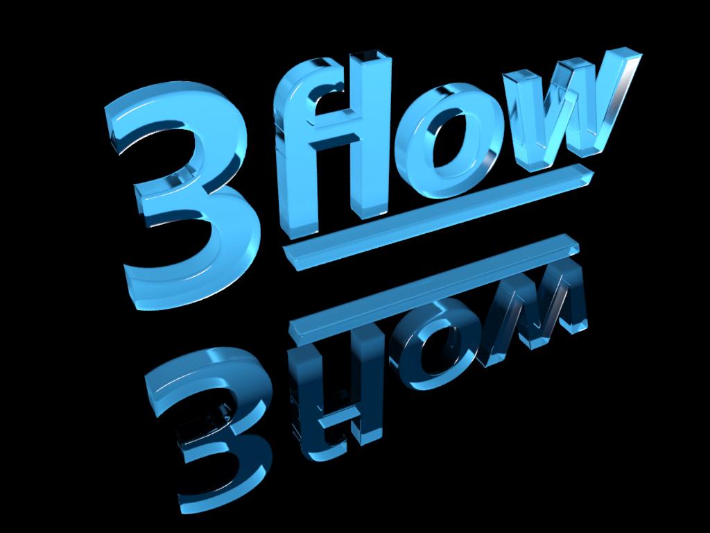 Logo Design by illusionist - Entry No. 88 in the Logo Design Contest Fun Logo Design for 3flow.